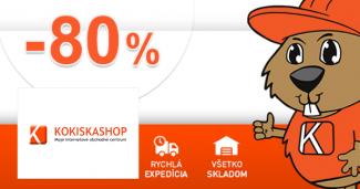 Akční ceny až -80% na KokiskaShop.cz