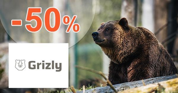 Akce a slevy až do -50% na Grizly.cz