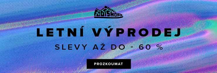 Letní výprodej se slevami až -60% na FootShop.cz
