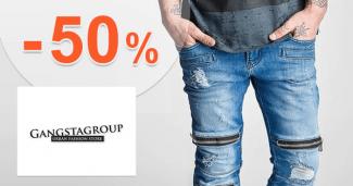 Módní doplnky až -50% na GangstaGroup.cz