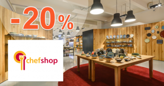 Sleva -20% na zboží značky WMF na ChefShop.cz