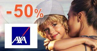 Sleva -50% na jednorázové pojištění na AXA-assistance.cz