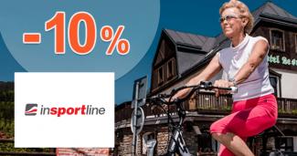 Sleva za věrnost až -10% na inSPORTline.cz