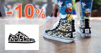 Slevový kód -10% k nákupu na FootShop.cz