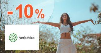 Slevový kód -10% na Beauty Jar na Herbatica.cz