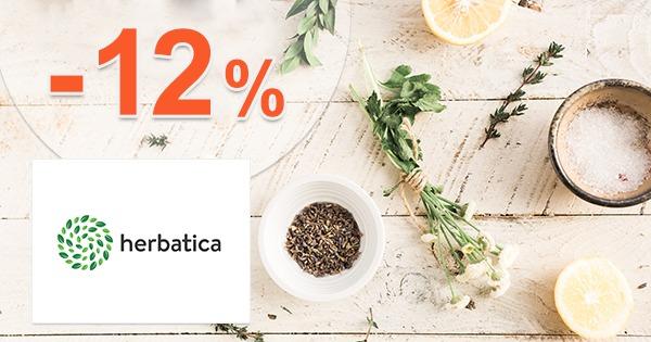 Slevový kód -12% na Herbatica.cz