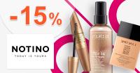 Slevový kód -15% na vybranou kosmetiku na Notino.cz