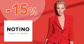 Slevový kód -15% sleva na parfémy na Notino.cz
