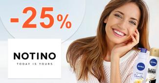 Slevový kód -25% na Delia Cosmetics na Notino.cz