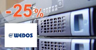 Slevový kód -25% na WEDOS Disk na Wedos.cz