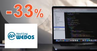 Slevový kód -33% na VPS SSD a VPS ON na Wedos.cz