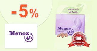 Slevový kód -5% na Menox45.cz