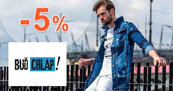 Slevový kód -5% na všechno na BudChlap.cz