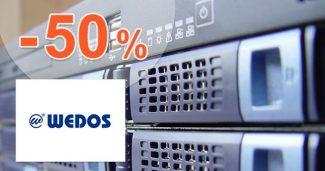 Slevový kód -50% na Webhosting NoLimit na Wedos.cz
