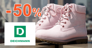 Slevy až -50% na dámské boty na Deichmann.cz