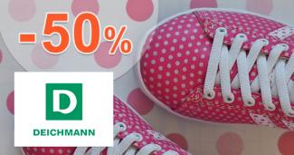 Slevy až -50% na dětskou obuv na Deichmann.cz