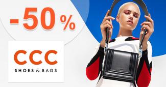Slevy na obuv až do -50% na CCC.eu