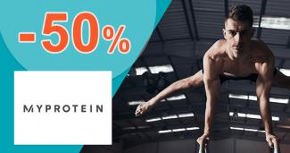 Slevy na sportovní výživu až -50% na MyProtein.cz