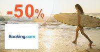 Slevy na ubytování až do -50% na Booking.com