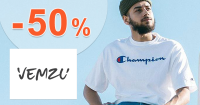 Slevy na vybrané zboží až -50% na Vemzu.cz