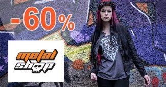 Sortiment v akci a slevy až -60% na MetalShop.cz