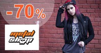 Výprodej až -70% na MetalShop.cz