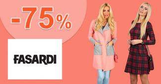 Výprodej až -75% na FASARDIofficial.cz