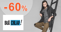 Výprodej až do -60% na BudChlap.cz