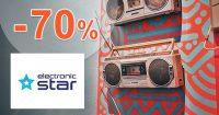 Výprodej až do -70% na Electronic-Star.cz