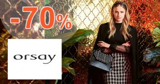 Výprodej módy až -70% na Orsay.com