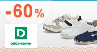 Výprodej obuvi až -60% slevy na Deichmann.cz