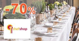Výprodej skladu až -70% na ChefShop.cz