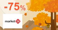 Velký výprodej až -75% na Market-24.cz